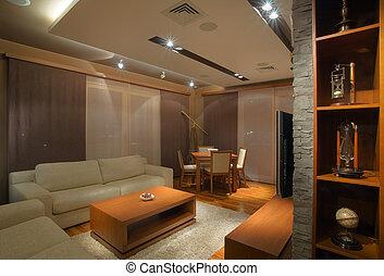 interior, apartamento