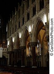 interior, arcos, de, c/, colman's, catedral