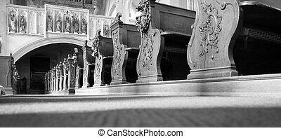 interior, basílica
