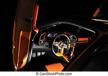 interior, car, classy