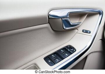interior, car, modernos