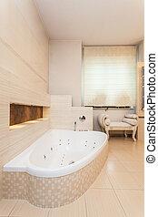interior, casa, banheiro, -, classy