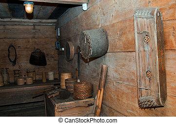 interior, casa, ethno