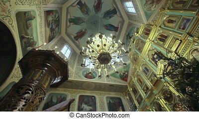 Interior church