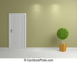 Interior composition. - 3d rendered interior composition...
