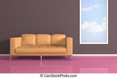 interior, composition., modernos