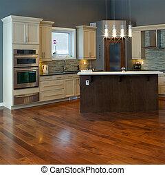 interior, cozinha, desenho