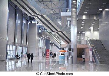 interior, de, el, centrocomercial