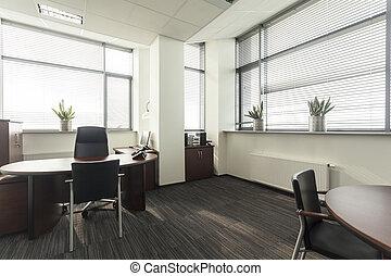 interior de la oficina