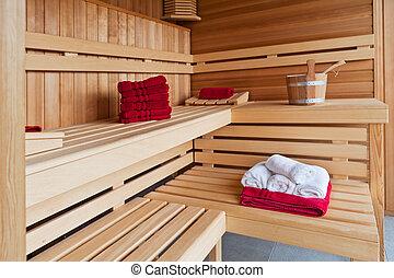 De madera ba o jacuzzi interior hogar sauna caba a - Madera para sauna ...