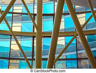 interior, design, building