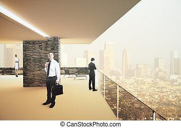 Interior design daylight - Interior design with...