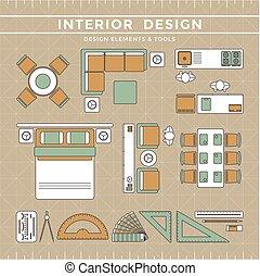 Interior Design Elements & Tools