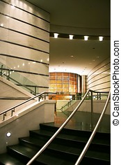 Interior Design - Interior design with staircase