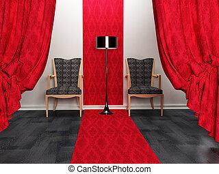 Interior design scene