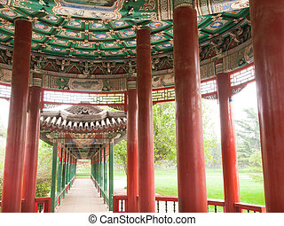Temple of Haven - Interior details, Temple of Haven in...