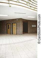 interior, edificio