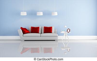 interior, elegante, modernos