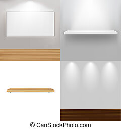 Interior Elements, Vector Illustration