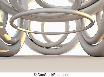 Interior Empty Structure - Interior Empty Abstract...