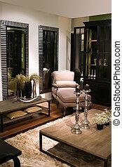 interior, estilo, clásico