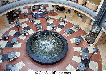 interior fountain shop