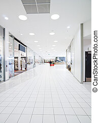 Shopping Mall - Interior from a Shopping Mall