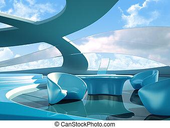 interior, futuro