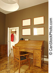 interior, hogar, habitación, oficina