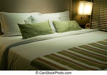 interior, hotel, lujo