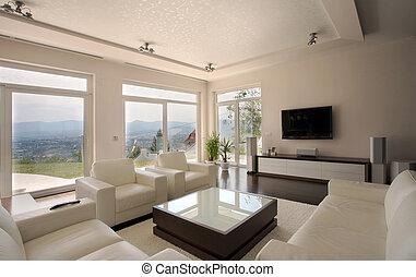 interior, hus
