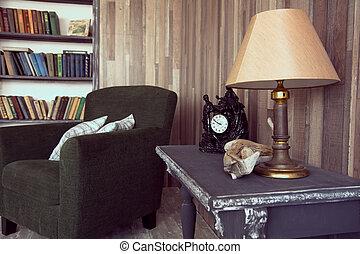 interior, i, den, cabine
