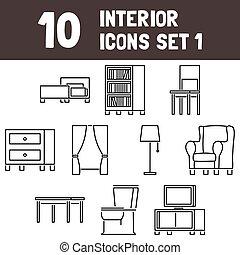 Interior Icons Set 1 - msidiqf