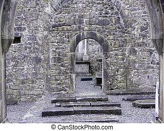 interior, iglesia vieja