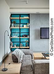 Interior in modern style