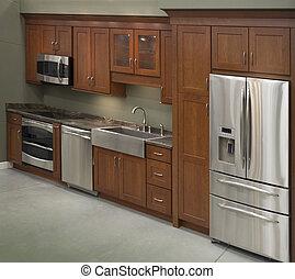 interior, køkken