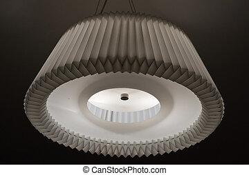 interior, lámpara, en, un, dormitorio