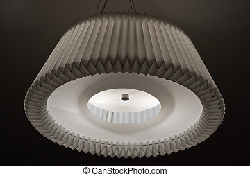 interior lamp in a bedroom