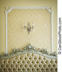 interior, luksus, detalje