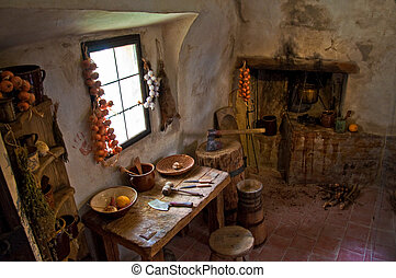 interior, medieval