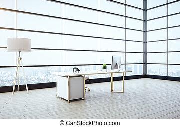 interior, mobília, luxo, embarcar, sala