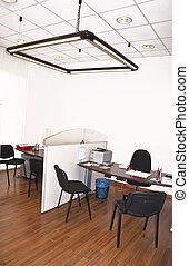 interior, modernos, desenho, escritório