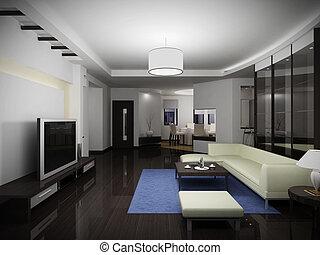 interior, modernos