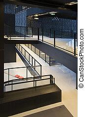 interior, modernos, público