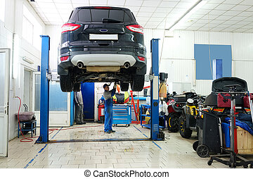 car repair station