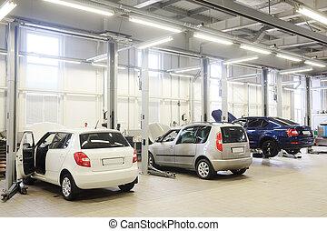 car repair station
