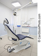 dantist consulting room - Interior of a dantist consulting...