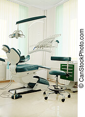 dentist consulting room - Interior of a dentist consulting...