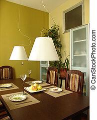 dinning room - interior of a dinning room