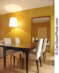 Interior of a dinning room